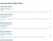 Tablet Preview of garyzalkin.net